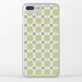 Circles of an Anglo Saxon Mirror Clear iPhone Case