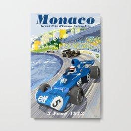 Monaco Grand Prix 1973 Metal Print