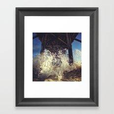 Newport  Splash Framed Art Print