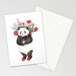 Flower Panda Stationery Cards
