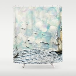 And the Sea Shower Curtain