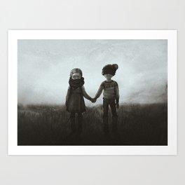 Far from Hell Art Print