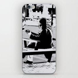 Busking - Guitar Player iPhone Skin