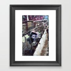 Potsdam Gorilla Framed Art Print