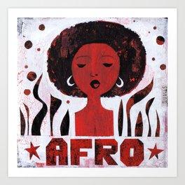 *AFRO* Art Print