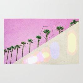 Levitated Mass (Pink) Rug