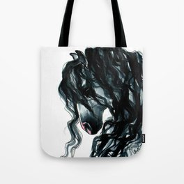 Andalusian Horse Portrait Tote Bag