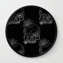 Mum Skulls Wall Clock