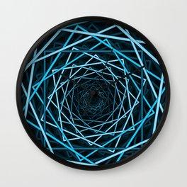 Optical Illusion Of Squares Wall Clock