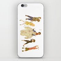 big hero 6 iPhone & iPod Skins featuring Big Hero 6 Disneys by Carma Zoe