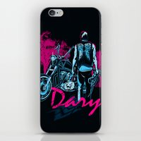 daryl iPhone & iPod Skins featuring Daryl Drive by Tracey Gurney
