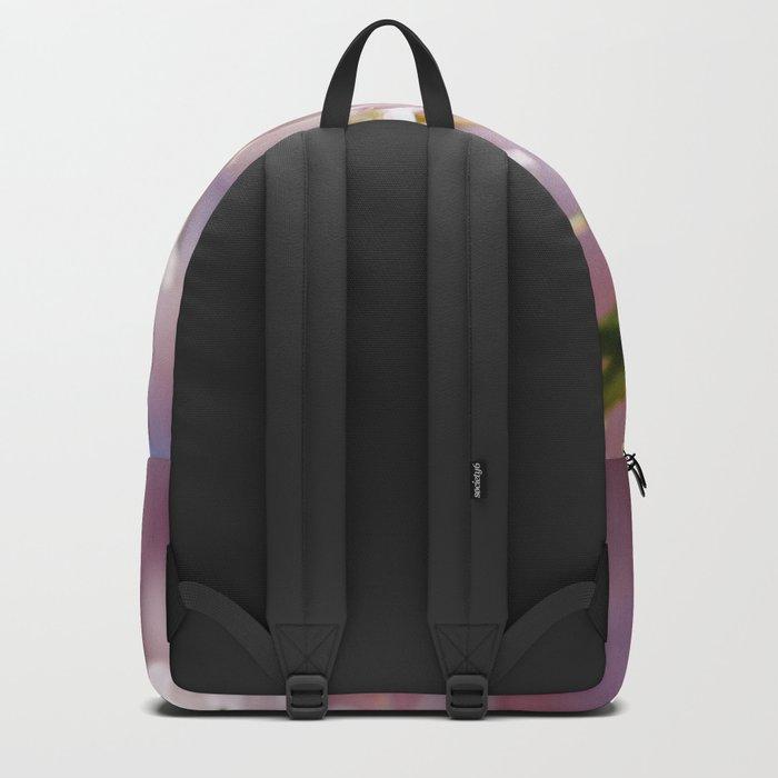Pastel Pink flower blossom branch Backpack