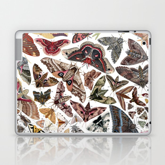 Moths of North America Laptop & iPad Skin
