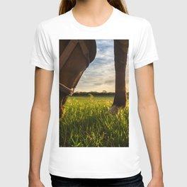 Grazig at Sunst T-shirt