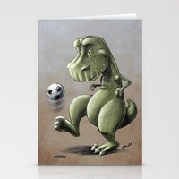 football Stationery Cards featuring Football! by Allan McInnes