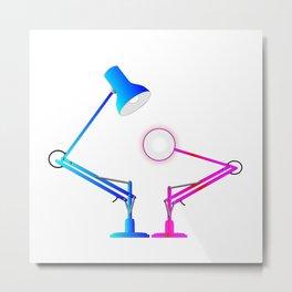 Anglepoise Lighting Lamps Metal Print