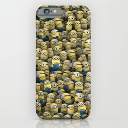 Army of little lamps iPhone Case