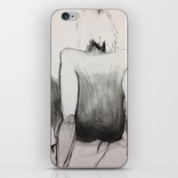 jasmine iPhone & iPod Skins featuring Jasmine by Helen Syron