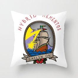 sailin' on Throw Pillow