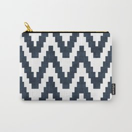 Twine in Navy Blue Carry-All Pouch