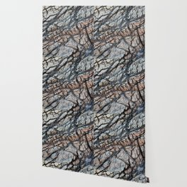 Cracked Rock Abstract Wallpaper