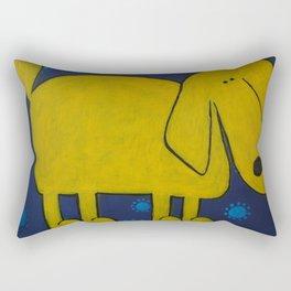 Yellow Dawg Rectangular Pillow