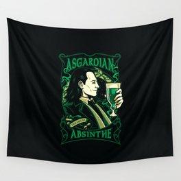 Asgardian Absinthe Wall Tapestry