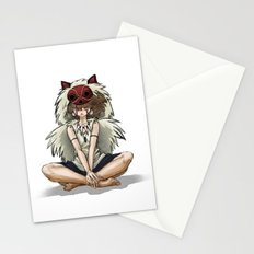 Wolf Princess Stationery Cards