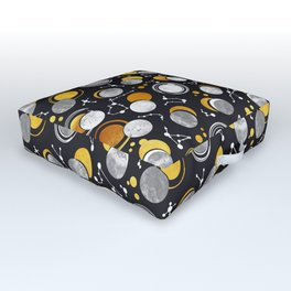 Great Total Solar Eclipse Outdoor Floor Cushion