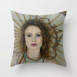 A bit of Beauty Throw Pillow