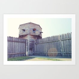 Fort Vancouver Art Print