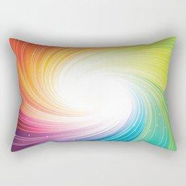 Rainbow background Rectangular Pillow