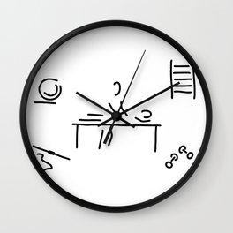 massage physiotherapist Wall Clock