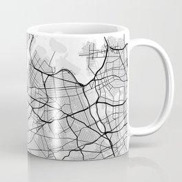 New York City Map of United States Coffee Mug