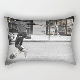 Mid-Air Skater Rectangular Pillow
