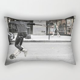 Mid-Air Skater Rectangular Pillow