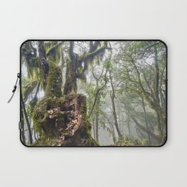 Centenary Tree. Garajonay. Foggy Forest Laptop Sleeve