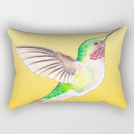 Hummer Yellow Rectangular Pillow