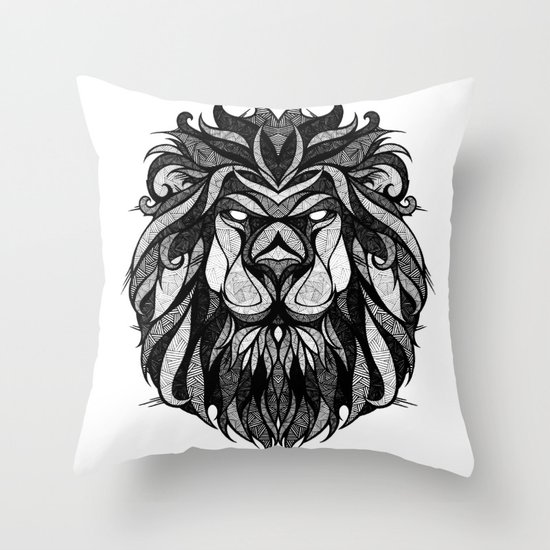 Signs of the Zodiac - Leo Throw Pillow