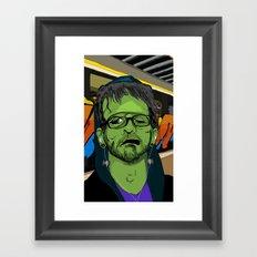 Hip Frankenstein Framed Art Print