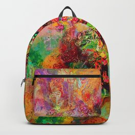 Geranium abundance Backpack