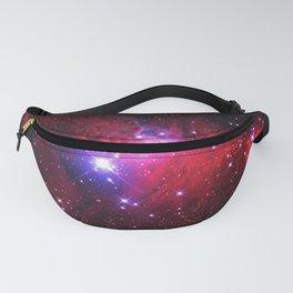 Pink Glitter Star Galaxy Fanny Pack
