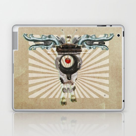 Radiation Day · Monolithic Baby Laptop & iPad Skin