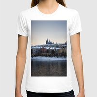 prague T-shirts featuring Prague Castle by Erik Witsoe Photography