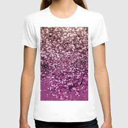 Sparkling BLACKBERRY CHAMPAGNE Lady Glitter #2 #decor #art #society6 T-shirt