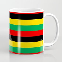 Biafra Mozambique Zambia flag stripes Coffee Mug