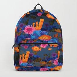 underwater oranges Backpack