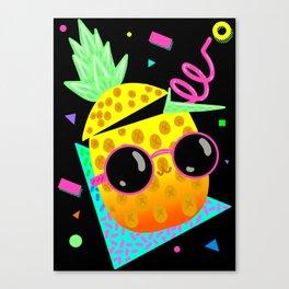 Piña Coolada Canvas Print
