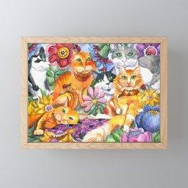Garden Party Framed Mini Art Print