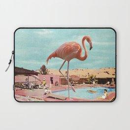 Holiday Flamingo Laptop Sleeve